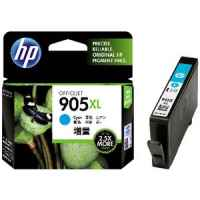 1 x Genuine HP 905XL Cyan Ink Cartridge T6M05AA