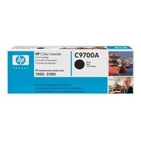 1 x Genuine HP C9700A Black Toner Cartridge 121A