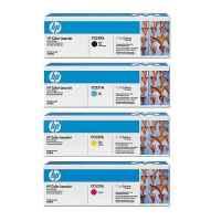 4 Pack Genuine HP CC530A CC531A CC532A CC533A Toner Cartridge Set 304A