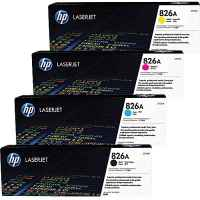 4 Pack Genuine HP CF310A CF311A CF312A CF313A Toner Cartridge Set 826A