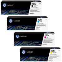 HP CF400X - CF403X (201X) Toner Cartridges