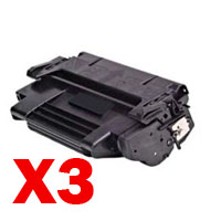 3 x Compatible HP 92298A Toner Cartridge 98A