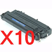 10 x Compatible HP C3903A Toner Cartridge 03A