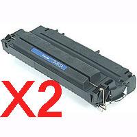 2 x Compatible HP C3903A Toner Cartridge 03A