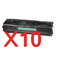 10 x Compatible HP C3906A Toner Cartridge 06A