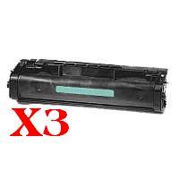 3 x Compatible HP C3906A Toner Cartridge 06A