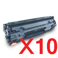 10 x Compatible HP CE285A Toner Cartridge 85A