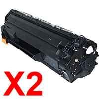 2 x Compatible HP CF279A Toner Cartridge 79A