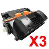 3 x Compatible HP CF281A Toner Cartridge 81A