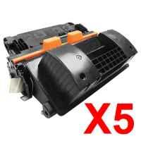 5 x Compatible HP CF281A Toner Cartridge 81A