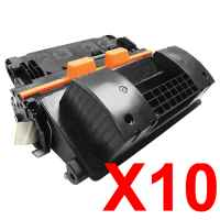 10 x Compatible HP CF281X Toner Cartridge 81X
