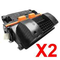 2 x Compatible HP CF281X Toner Cartridge 81X