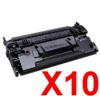 10 x Compatible HP CF287X Toner Cartridge 87X