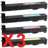 3 Lots of 4 Pack Compatible HP CF310A CF311A CF313A CF312A Toner Cartridge Set 826A