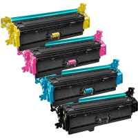 4 Pack Compatible HP CF360X CF361X CF363X CF362X Toner Cartridge Set 508X