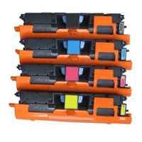 4 Pack Compatible HP Q3960A Q3961A Q3962A Q3963A Toner Cartridge Set 122A