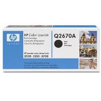 1 x Genuine HP Q2670A Black Toner Cartridge 309A