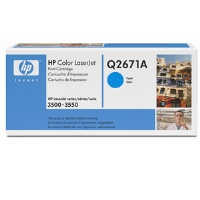 1 x Genuine HP Q2671A Cyan Toner Cartridge 309A