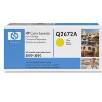 1 x Genuine HP Q2672A Yellow Toner Cartridge 309A