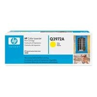 1 x Genuine HP Q3972A Yellow Toner Cartridge 123A