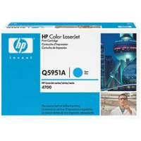 1 x Genuine HP Q5951A Cyan Toner Cartridge 643A