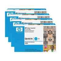4 Pack Genuine HP Q6460A Q6461A Q6462A Q6463A Toner Cartridge Set 644A