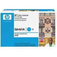 1 x Genuine HP Q6461A Cyan Toner Cartridge 644A