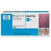 1 x Genuine HP Q6471A Cyan Toner Cartridge 502A