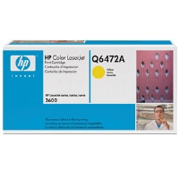 1 x Genuine HP Q6472A Yellow Toner Cartridge 502A