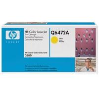 1 x Genuine HP Q6472A Yellow Toner Cartridge 502A