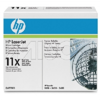 1 x Genuine HP Q6511XD Toner Cartridge Twin Pack 11X