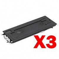 3 x Non-Genuine TK-420 Toner Cartridge for Kyocera KM-2550 KM2250