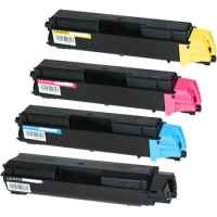 4 Pack Non-Genuine TK-5154 Toner Cartridge Set for Kyocera P6035 M6535