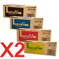 2 Lots of 4 Pack Genuine Kyocera TK-584 Toner Cartridge Set FS-C5150DN