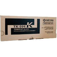 1 x Genuine Kyocera TK-594K Black Toner Cartridge FS-C2026MFP FS-C2526MFP