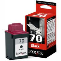 1 x Genuine Lexmark #70 Black Ink Cartridge 12A1970