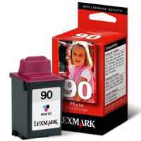 1 x Genuine Lexmark #90 Photo Ink Cartridge 12A1990