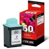 1 x Genuine Lexmark #60 Colour Ink Cartridge 17G0060