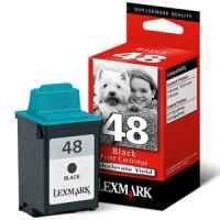 1 x Genuine Lexmark #48 Black Ink Cartridge 17G0648