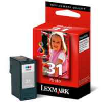 1 x Genuine Lexmark #31 Photo Ink Cartridge 18C0031