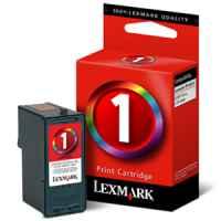 1 x Genuine Lexmark #1 Colour Ink Cartridge 18C0781
