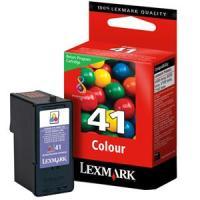 1 x Genuine Lexmark #41 Colour Ink Cartridge Return Program 18Y0141A