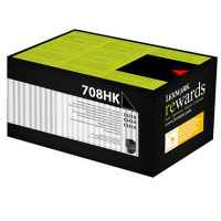 1 x Genuine Lexmark CS310 CS410 CS510 708HK Black Toner Cartridge High Yield Return Program