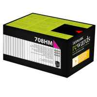 1 x Genuine Lexmark CS310 CS410 CS510 708HM Magenta Toner Cartridge High Yield Return Program
