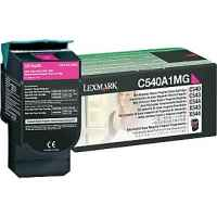 1 x Genuine Lexmark C540 C543 C544 C546 X543 X544 X546 X548 Magenta Toner Cartridge Return Program