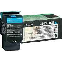 1 x Genuine Lexmark C540 C543 C544 C546 X543 X544 X546 X548 Cyan Toner Cartridge High Yield Return Program