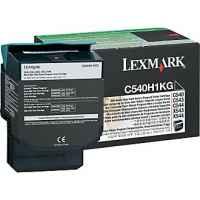 1 x Genuine Lexmark C540 C543 C544 C546 X543 X544 X546 X548 Black Toner Cartridge High Yield Return Program