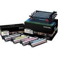 1 x Genuine Lexmark C540 C543 C544 C546 X543 X544 X546 X548 Black & Colour Imaging Kit