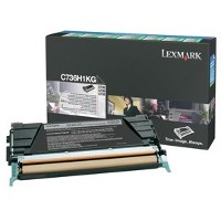 1 x Genuine Lexmark C736 X736 X738 Black Toner Cartridge High Yield Return Program