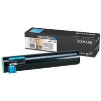1 x Genuine Lexmark X940 X945 Cyan Toner Cartridge